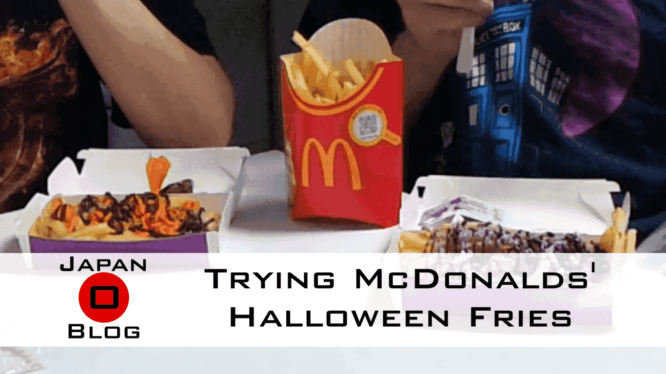 Trying McDonalds