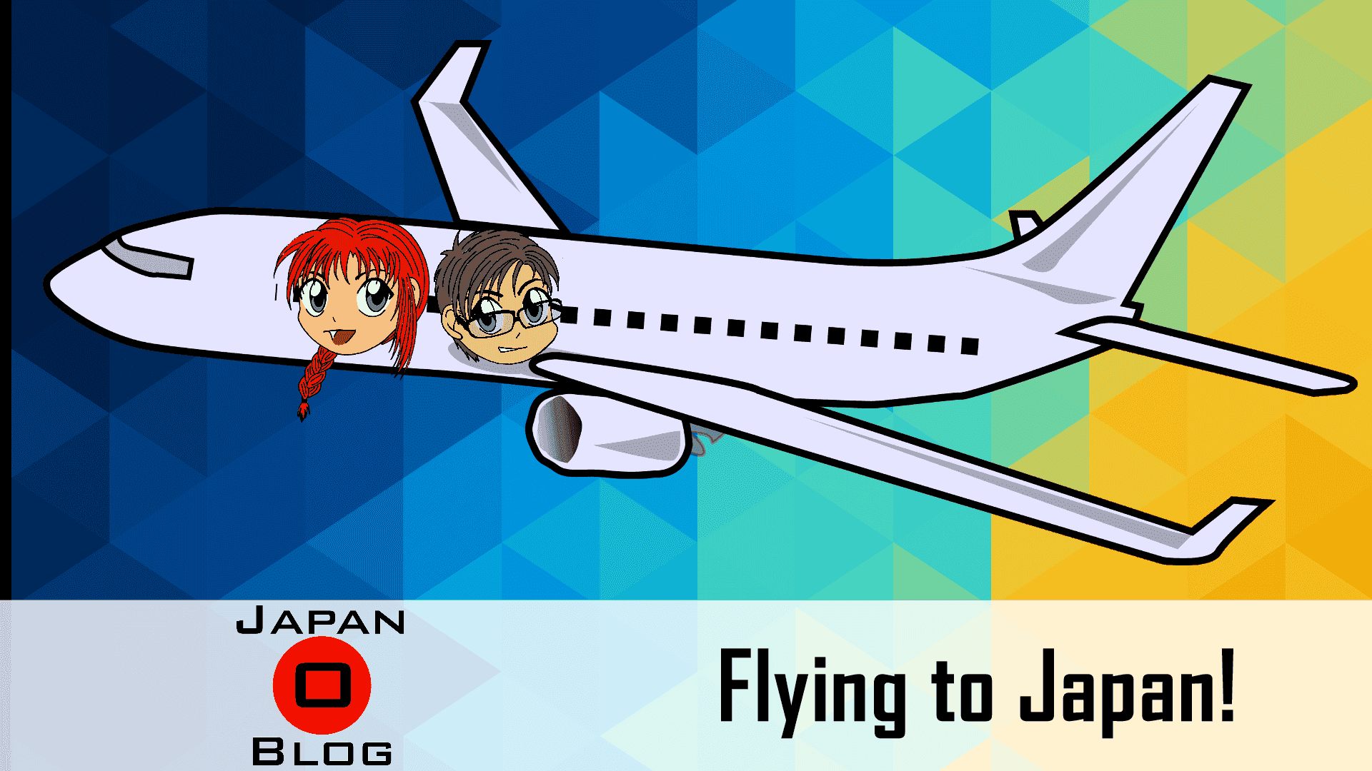 Flying to Japan!